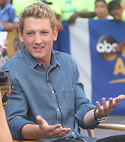 NEW YORK, NY-August 04: Miles Teller at Good Morning America to talk about his new movie War Dogs in New York. NY August 04, 2016. Credit:RW/MediaPunch