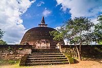 Rankot Vihara Dagoba at the Ancient City of Polonnaruwa, UNESCO World Heritage Site, Sri Lanka, Asia. This is a photo of Rankot Vihara Dagoba at the Ancient City of Polonnaruwa, UNESCO World Heritage Site, Sri Lanka, Asia.