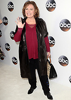 PASADENA, CA - JANUARY 8:  Roseanne Barr at the Disney ABC Winter 2018 Press Tour at The Langham Huntington Hotel and Spa on January 8, 2018 in Pasadena, California. (Photo by Scott Kirkland/PictureGroup)