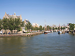 Buildings and harbour historic Veerhaven, Rotterdam, Netherlands