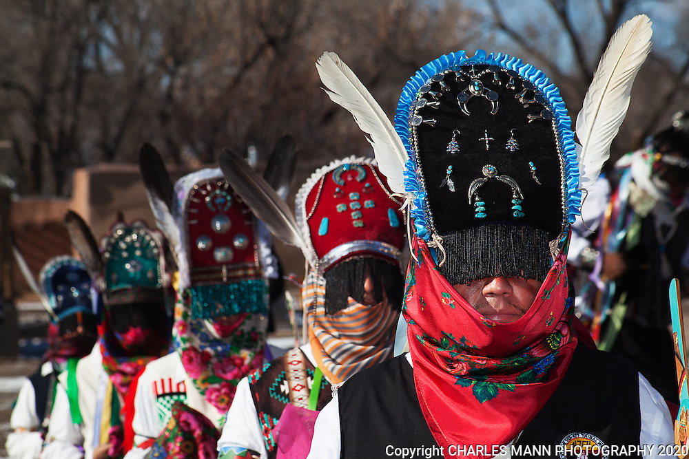 Ohkay Owingeh Christmas Dances 2020 Ohkay Owingeh_Christmas_Matachine dances_2012_Santa Fe