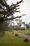 USA, California, Big Sur, Esalen, the Murphy House at the Esalen Institute