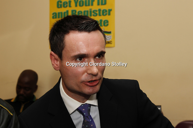 DURBAN - 18 June 2013 - Roman Liptak, a former member of the Inkatha Freedom Party who was known for writing the speeches for the party's leader, explains why he has defected to the African National Congress. Picture: Giordano Stolley