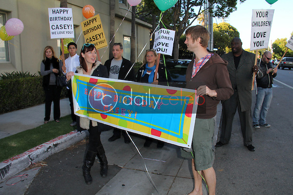 Atmosphere<br /> at the Casey Kasem's 82nd Birthday Vigil, outside the facility where he is being kept away from all who love him, Berkley East Convalescent Center, Santa Monica, CA 04-27-14<br /> David Edwards/DailyCeleb.com 818-249-4998