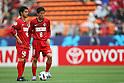 (L to R) Mitsuo Ogasawara (Antlers), Takuya Nozawa (Antlers), May 3rd, 2011 - Football : AFC Champions League 2011, Group H match between Kashima Antlers 2-0 Shanghai Shenhua at National Stadium, Tokyo, Japan.  (Photo by Daiju Kitamura/AFLO SPORT) [1045].