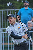 Peter Malnati (USA) watches his tee shot on 10 during Round 3 of the Valero Texas Open, AT&amp;T Oaks Course, TPC San Antonio, San Antonio, Texas, USA. 4/21/2018.<br /> Picture: Golffile | Ken Murray<br /> <br /> <br /> All photo usage must carry mandatory copyright credit (&copy; Golffile | Ken Murray)