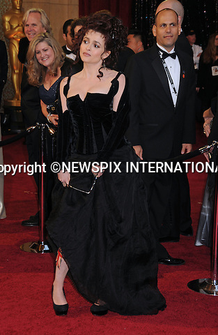 "HELENA BONHAM-CARTER - Oscars 2011.83rd Academy Awards arrivals, Kodak Theatre, Hollywood, Los Angeles_27/02/2011.Mandatory Photo Credit: ©Phillips-Newspix International..**ALL FEES PAYABLE TO: ""NEWSPIX INTERNATIONAL""**..PHOTO CREDIT MANDATORY!!: NEWSPIX INTERNATIONAL(Failure to credit will incur a surcharge of 100% of reproduction fees)..IMMEDIATE CONFIRMATION OF USAGE REQUIRED:.Newspix International, 31 Chinnery Hill, Bishop's Stortford, ENGLAND CM23 3PS.Tel:+441279 324672  ; Fax: +441279 656877.Mobile:  0777568 1153.e-mail: info@newspixinternational.co.uk"