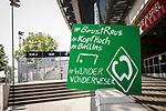 im Bild   picture shows:<br /> Fanbanner / Zuspruch Fans / am Wohninvest Weserstadion,  <br /> <br /> <br /> Sport: nphgm001: Fussball: 1. Bundesliga: Saison 19/20: 34. Spieltag: SV Werder Bremen vs 1.FC Koeln 27.06.2020 <br /> <br /> Foto: Rauch/gumzmedia/nordphoto<br /> <br /> EDITORIAL USE ONLY