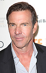 Dennis Quaid attending the The 2012 Toronto International Film Festival.Red Carpet Arrivals for 'At Any Price' at the Princess of Wales Theatre in Toronto on 9/9/2012
