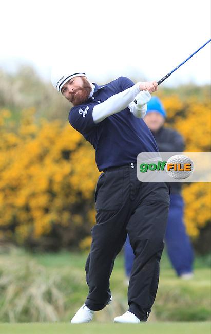 Kelan McDonagh (The Royal Dublin) during the 36 hole stroke play qualifying on April 3rd 2015 for the 2015 West of Ireland Open Championship, Co. Sligo, Golf Club, Rosses Point, Sligo, Ireland.<br /> Picture: Thos Caffrey / Golffile