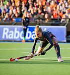 UTRECHT - Caia Van Maasakker (Ned) scoort   tijdens   de Pro League hockeywedstrijd wedstrijd , Nederland-China (6-0) .  COPYRIGHT  KOEN SUYK
