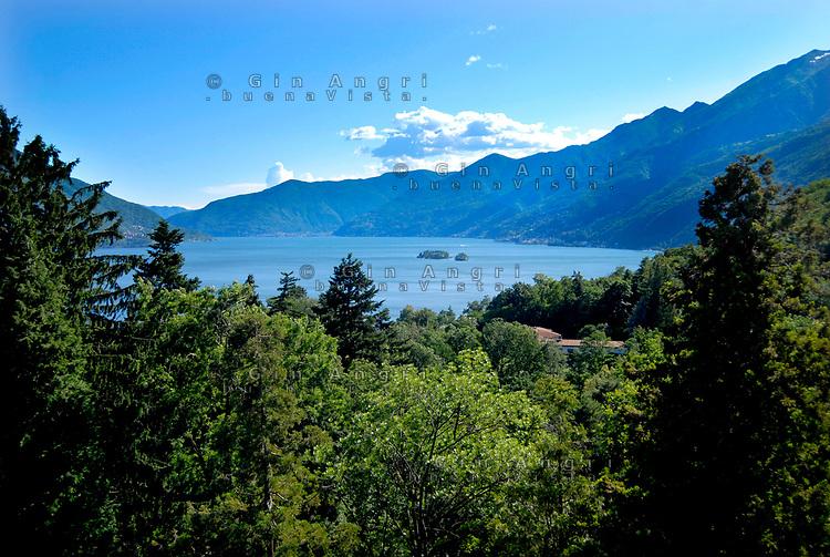 Svizzera, Canton Ticino, Ascona, Monte Verità, isole  di Brissago, lago maggiore,