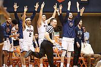 SAN ANTONIO, TX - FEBRUARY 7, 2019: The University of Texas at San Antonio Roadrunners defeat the Florida International University Panthers 100-67 at the UTSA Convocation Center. (Photo by Jeff Huehn)
