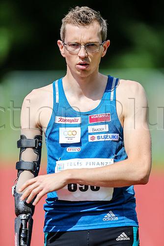 04.06.2016. Unistadion, Regensburg, Germany. Sparkassen Athletics Gala.  Guenther Matzinger (oeTB Salzburg Leichtathletik)