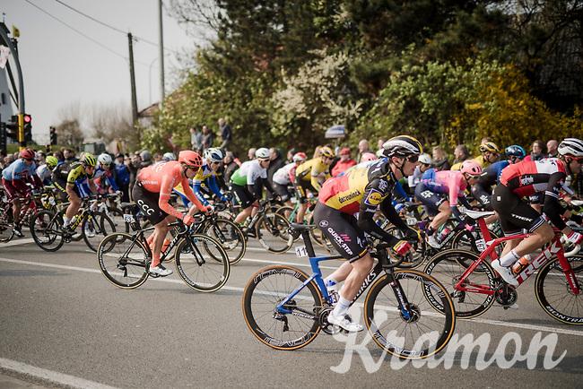 Yves LAMPAERT (BEL/Deceuninck-Quick Step)<br /> <br /> 81st Gent-Wevelgem 'in Flanders Fields' 2019<br /> One day race (1.UWT) from Deinze to Wevelgem (BEL/251km)<br /> <br /> ©kramon