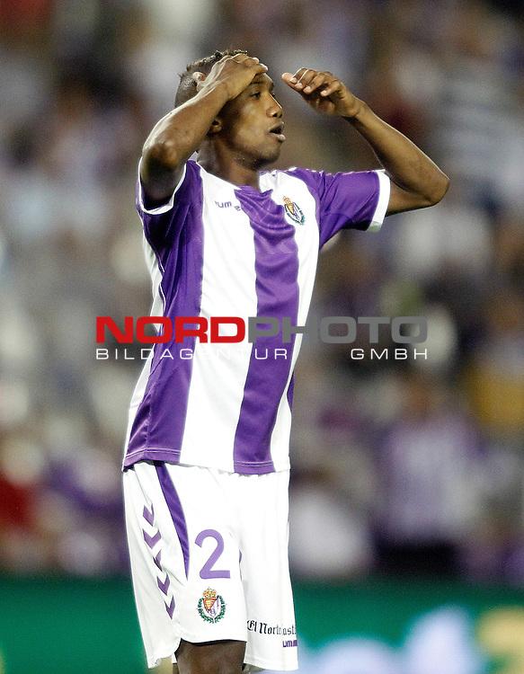 Real Valladolid's Zakarya Bergdich during La Liga match.August 31,2013. Foto © nph / Acero)