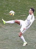 Real Madrid's Cristiano Ronaldo during La Liga match.February 7,2015. (ALTERPHOTOS/Acero) /NORTEphoto.com