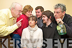 "Dochas Drama Group members Grainne MacGillicuddy, Daniel McCarthy, Hugh Jordan, Patricia McSherry, Tony Kenny and Sean Clancy rehearse their roles for their upcoming show ""Drana At Inish""which will run from the 4th to the 7th March in the Aras Phadraig, Killarney...."