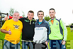 At the Tralee Ultra 100k marathon on Sunday were l-r  Vincent Guthrie, Eamon Egan, David Welsh and Colin Ahern
