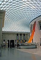 London: British Museum--Great Court. Norman Foster 2001.  Photo 2005.