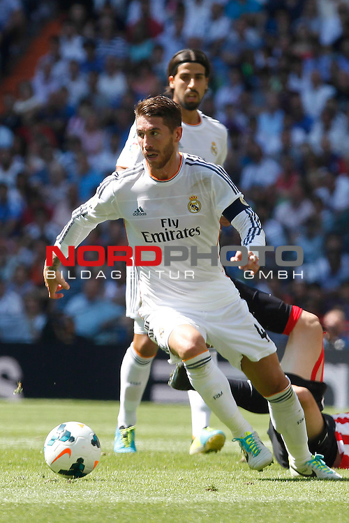 Real Madrid's Sergio Ramos during La Liga Match. September 01, 2013. Foto © nph / Caro Marin)