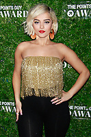 NEW YORK, NY - DECEMBER 4: Bebe Rexha  at the Inaugural TPG Awards Ceremony at the Intrepid Sea-Air-Space Museum on December 4, 2018 in New York City. <br /> CAP/MPI99<br /> &copy;MPI99/Capital Pictures
