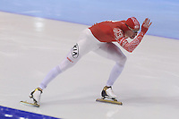 SCHAATSEN: HEERENVEEN: IJsstadion Thialf, 17-11-2012, Essent ISU World Cup, Season 2012-2013, Men 1000 meter Division A, Aleksey Yesin (RUS), ©foto Martin de Jong