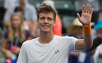 TOMAS BERDYCH (CZE)<br /> <br /> Tennis - BNP PARIBAS OPEN 2015 - Indian Wells - ATP 1000 - WTA Premier -  Indian Wells Tennis Garden  - United States of America - 2015<br /> &copy; AMN IMAGES