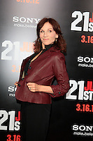 LOS ANGELES, CA - MAR 13: Marilu Henner at the premiere of Columbia Pictures '21 Jump Street' held at Grauman's Chinese Theater on March 13, 2012 in Los Angeles, California