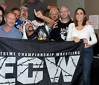 NEW YORK, NY - NOVEMBER 4: Jerry Lynn, Stevie Richards, Blue Meanie,Sabu,Shane Douglas, Raven and Francine attend the Big Event NY at LaGuardia Plaza Hotel on November 4, 2017 in Queens, New York.  Credit: George Napolitano/MediaPunch /NortePhoto.com