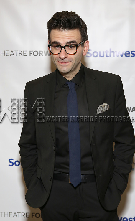 Joe Iconis during a reception for Theatre Forward's Chairman's Awards Gala at the Pierre Hotel on April 8, 2019 in New York City.