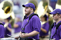 SEATTLE, WA - SEPTEMBER 9:  Washington band members entertained the fans before the game between the Washington Huskies and the Montana Grizzlies on September 09, 2017 at Husky Stadium in Seattle, WA. Washington won 63-7 over Montana.