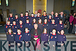 Confirmation day for the pupils of Listellick NS on Friday as Bishop of Kerry Bill Murphy Confirmed them the pupils with their teachers, Michea?l O Cineide................... . ............................... ..........