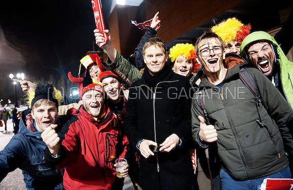 Belgian former international footballer Tom De Mul (Belgium, 28/03/2015)