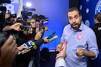 SÃO PAULO, SP - 30.09.2018 - ELEIÇÕES-2018 - Guilherme Boulos, candidato à Presidência da República pelo PSOL, durante debate da Rede Record, realizado na sede da emissora no bairro da Barra Funda em São Paulo, na noite deste domingo, 30(Foto: Levi Bianco/Brazil Photo Press)