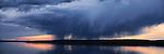 Stormy Skies Over Yellowstone Lake<br /> Yellowstone National Park, Wyoming