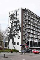 Nederland - Amsterdam- april 2018.  Flat De Boel op de Zuidas.   Foto Berlinda van Dam / Hollandse Hoogte