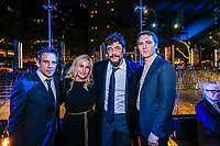 "NEW YORK - NOVEMBER 14:  Ben Stiller, Patricia Arquette, Benicio Del Toro and Paul Dano attend the party following the premiere of Showtime's limited series ""Escape at Dannemora"" at Alice Tully Hall in Lincoln Center on November 14, 2018 in New York City. (Photo by Kena Betancur/Showtime/PictureGroup)"
