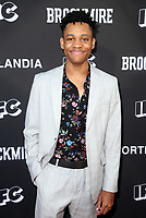 "NORTH HOLLYWOOD, CA - MAY 15: Tyrel Jackson Williams, at IFC Hosts ""Brockmire"" And ""Portlandia"" EMMY FYC Red Carpet Event at Saban Media Center at the Television Academy, Wolf Theatre in North Hollywood, California on May 15, 2018. Credit: Faye Sadou/MediaPunch"