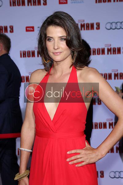 "Cobie Smulders<br /> at the ""Iron Man 3"" Los Angeles Premiere, El Capitan, Hollywood, CA 04-24-13<br /> David Edwards/Dailyceleb.com 818-249-4998"
