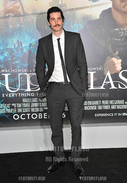 "Jim Sturgess at the Los Angeles premiere of his new movie ""Cloud Atlas"" at Grauman's Chinese Theatre, Hollywood..October 24, 2012  Los Angeles, CA.Picture: Paul Smith / Featureflash"