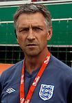 Soccer, UEFA U-17.France Vs. England.England head coach John Peacock.Indjija, 03.05.2011..foto: Srdjan Stevanovic