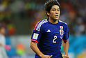 Atsuto Uchida (JPN), <br /> JUNE 14, 2014 - Football /Soccer : <br /> 2014 FIFA World Cup Brazil <br /> Group Match -Group C- <br /> between Cote d'Ivoire 2-1 Japan <br /> at Arena Pernambuco, Recife, Brazil. <br /> (Photo by YUTAKA/AFLO SPORT) [1040]