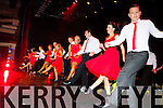 The dancers performing on stage at the Strictly Come Dancing in aid of the Irish Cancer Society in the INEC on Friday night