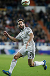 Real Madrid´s Daniel Carvajal during La Liga match at Santiago Bernabeu stadium in Madrid, Spain. March 15, 2015. (ALTERPHOTOS/Victor Blanco)
