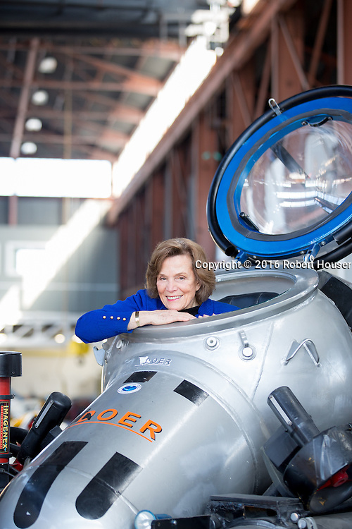 Portrait of Sylvia Earle