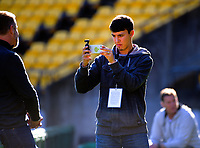 Rugby Championship South Africa Springboks captain's run training session at Westpac Stadium in Wellington, New Zealand on Friday, 26 July 2019. Photo: Dave Lintott / lintottphoto.co.nz