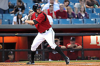 Nashville Sounds outfielder Corey Hart #41 at bat during a game against the Omaha Storm Chasers at Greer Stadium on April 25, 2011 in Nashville, Tennessee.  Omaha defeated Nashville 2-1.  Photo By Mike Janes/Four Seam Images