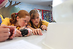 Pupils from Radyr Primary School visititing Welsh Water Education Centre in Cilfynydd..24.05.12.©Steve Pope