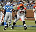 ANDRE SMITH, of the Cincinnati Bengals in action during the Bengals game against the Detroit Lion on August 12, 2011 at Ford Field in Detroit, Michigan. The Lions beat the Bengals 34-3.